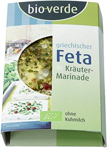 bio-verde Bio Feta in Kräuter-Marinade (6 x 150 gr)