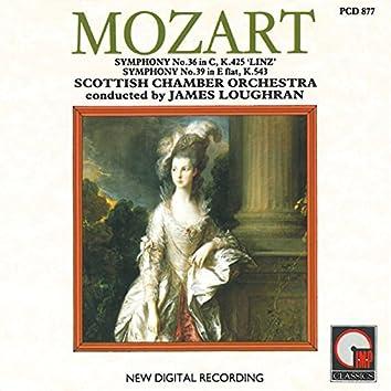 Mozart: Symphonies No. 36 - No. 39