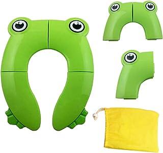 نونية اطفال قابلة للطي مع حقيبة حمل للاستعمال عند التنقل من ايزي، اخضر، مجموعة من قطعة واحدة