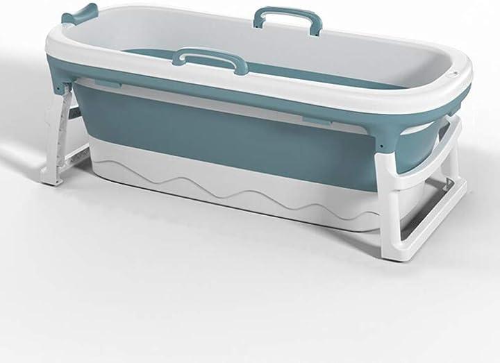 Vasca da bagno per adulti portatile vasca da bagno pieghevole in plastica ispessita wind greeting B08HXTRDP3