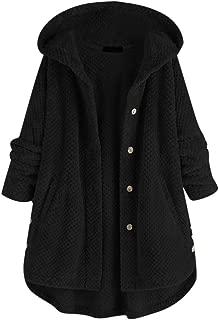 S, du Vin B Reaso Femmes Hoodie Sweatshirt Cardigan Mode Manteau Blouson Loose Tunique Long /À Capuche Tops Elegant Pull Casual Gilet Asym/étrique Coton Shirt Blouse Grande Taille