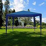 Home Discount Garden Vida Tonnelle de réception, Bleu, 3 x 3 m