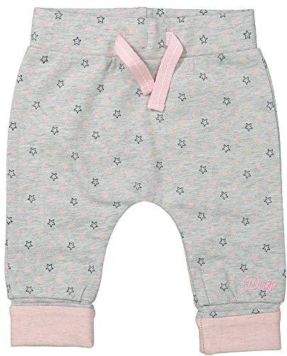 DIRKJE Baby Hose Sterne Grau/Rosa, Größe:44
