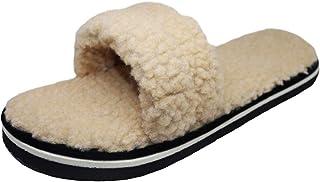 HD Ladies Cotton Soft and Comfortable Winter Fur Slipper