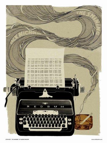 onthewall The Shining Poster Art Print (Stanley Kubrick) von Simon Walker (otw70)