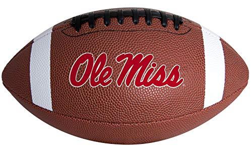Rawlings NCAA Primetime Junior Size Football, Ole Miss Rebels