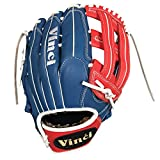 VINCI Limited 13' Softball/Baseball Glove Red, White, Blue Right Handed Thrower