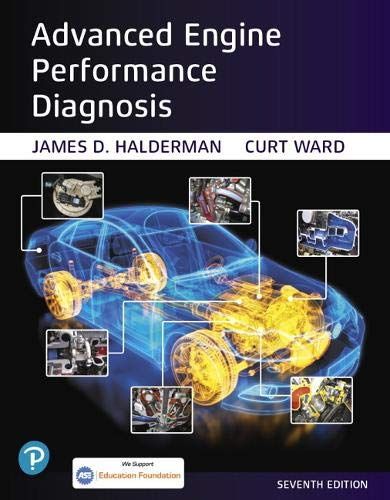 Advanced Engine Performance Diagnosis (Pearson Automotive Series)