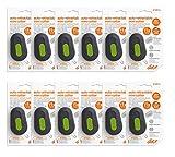 Slice 10514-CS Mini Cutter Auto-Retractable, Cuts Vinyl, Cardboard, Foam, Plastic Packaging Opener, Pack of 12