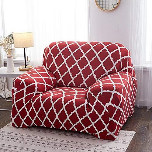 Funda de sofá de Silla elástica geométrica Funda de sofá Moderna Fundas de sofá de Licra para Sala de Estar Fundas de sofá A10 4 plazas
