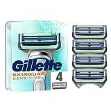 Gillette SkinGuard - Lame di ricambio per rasoio da uomo, di efficacia clinicamente testata per pelli sensibili 4