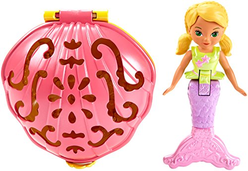 Fisher-Price – Dora and Friends – Sirène Alana – Mini-Figurine 10cm et Coquillage