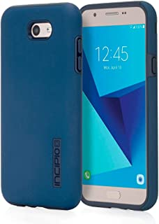 Incipio DualPro Samsung Galaxy J7 (2017) Case with Shock-Absorbing Inner Core and Protective Outer Shell for Samsung Galaxy J7 (2017) - Navy