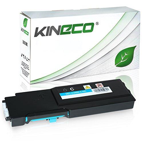 Toner kompatibel für Dell C2660DN, C2665DNF, C2600 Series - 593BBBT - Cyan 4.000 Seiten