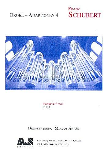 Schubert, Franz: Fantasie f-Moll D940 : f??r Orgel
