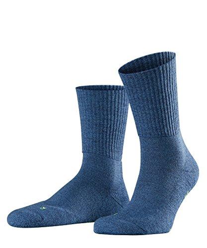 FALKE Unisex Socken Walkie Light - Merinowollmischung, 1 Paar, Blau (Light Denim 6660), Größe: 46-48