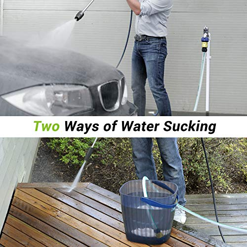 Paxcess Power Washer 2300 PSI 1.6 GPM Electric High Pressure Washer with Adjustable Spray Nozzle, Foam Cannon, IPX5 Car Washer Cleaner for Home/Car/Driveway/Patio Furniture