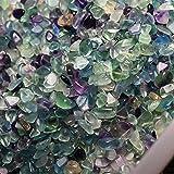 GOSOU Cristal de curación 50 g/Bolsa Natural Mixto Cuarzo Cristal de Piedra Roca Grava Natural Tumble Piedras Minerales para el Tanque de Peces Aquarium Jardín Decoración