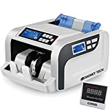 Money Tech Professional Polymer & Paper Multi-Currency Bill Cash Counter. Canadian Plastic