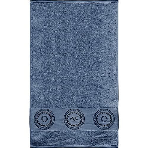 Toalla 30x50 Cm Versace azul 19v69 grande toallas de baño Productos Pareo Beach Stetica Niño Niña Albornoz