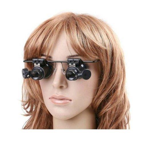 - Hochwertige Ama ZODE Neuartige Armbanduhr Reparatur Fernglas Lupe 20X Brille mit NoFDXH