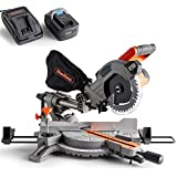 Vonhaus 20V MAX Cordless 185mm Mitre Saw – Rotating Base – Workshop Tool