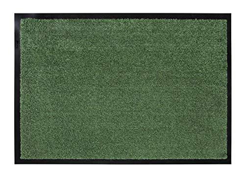 Wohn Idee Fußmatte Erik, getuftet, pflegeleicht, waschbar, 50x70 cm grün, Farbe:Grün, Größe:50 x 70 cm