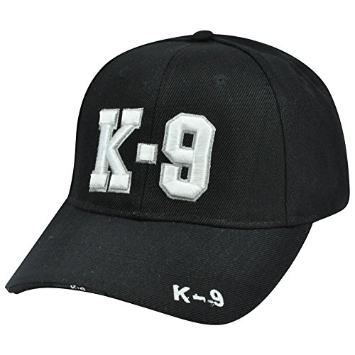 K-9 Police Unit Officer Gear, 3D Embroidered Adjustable Baseball Cap Hat