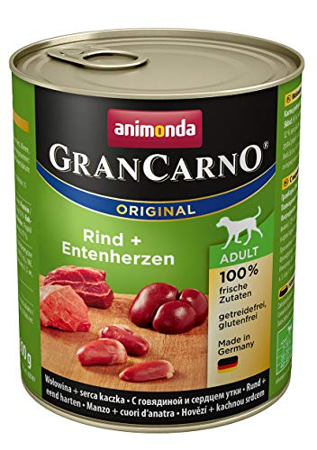 Animonda Gran Carno Hundefutter Adult Probierpack Adult Mix 2 (6 x 800 g) - 5