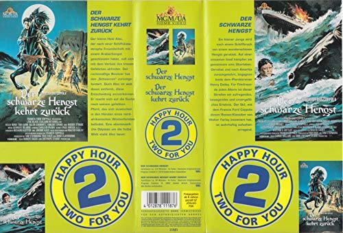 Two For You - Der schwarze Hengst/Der schwarze Hengst kehrt zurück [VHS]