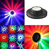 ディスコステージライト48 Led RGBプロジェクター照明ひまわりバーDJサウンドバックグラウンド壁ライトパーティーランプ
