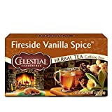 Celestial Seasonings Herbal Tea, Fireside Vanilla Spice, 20 Count (Pack Of 6)