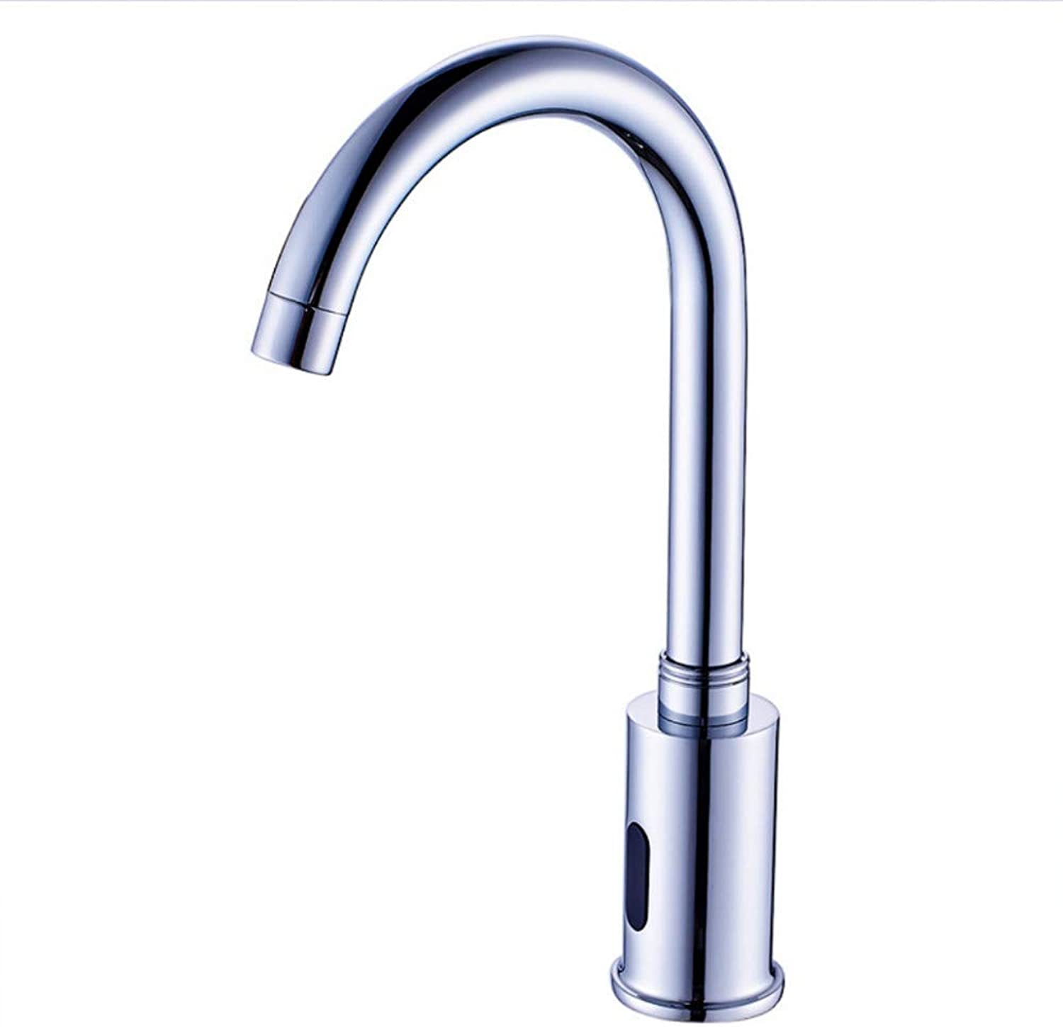Faucet high-end Induction Faucet Chrome-Plated Sensor Faucet