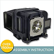 LOUTOC Projector Lamp Bulb V13H010L88 for Epson ELPLP88 Powerlite Home Cinema 1040 2040 2045 640 740HD EX3240 EX7240 EX9200 EX5240 EX5250 VS240 VS340 VS345