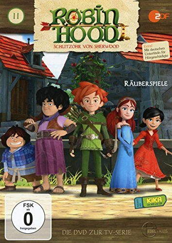 Robin Hood - Schlitzohr von Sherwood - Folge 11: Räuberspiele- Die DVD zur TV-Serie