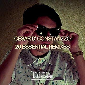 Cesar D' Constanzzo 20 Essential Remixes