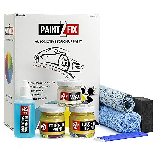 PAINT2FIX Touch Up Paint for Ford - School Bus Yellow AL   Paint Scratch Repair Kit