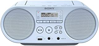 Sony ZSP-S50L Lecteur CD/MP3, USB, Radio – Bleu