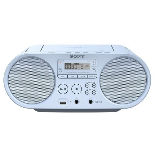 Sony ZS-PS50 - Boomboxon CD y Radio Am/FM de 4W (estéreo,...