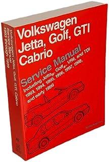 Bentley W0133-1616944-BNT Paper Repair Manual VW Jetta/Golf/GTI (A3)