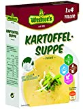 Werner´s Kartoffelsuppe - instant - 4 Teller, 10 Packungen pro Karton, glutenfrei, laktosefrei,...