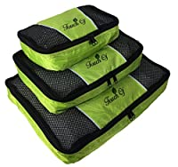 Touch Of Packing Cubes - 3 pc Set (Green)