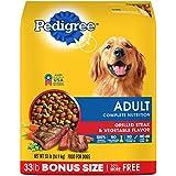 PEDIGREE Adult Complete Nutrition Grilled Steak &...