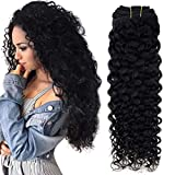 Hetto 14 pulgada Clip in Real Hair Extensions Negro 1 Jet Black Hot Looking Clip in...