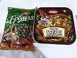 GURU KRIPA Choco Combo Choco Safari 250GM Dukes ECLAIRS ELAICHIN Chocolate Best Br