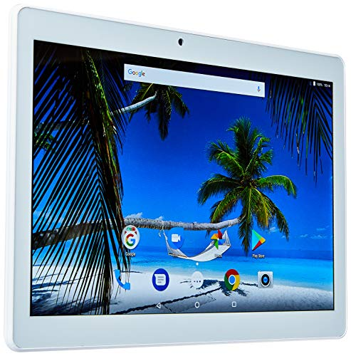 Tablet M10A branco quad core android 7.0 dual câmera 3G e bluetooth tela 10 Pol. polegadas Multilaser - NB254