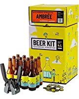 Votre propre bière à la maison comme un vrai maître brasseur ! Ce Beer Kit de niveau intermédiaire vous permet de réaliser toutes les étapes du brassage et ainsi d'avoir l'expérience de A à Z. Brassez et embouteillez 4 litres de bière ambrée en tout ...