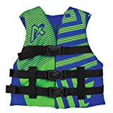 Airhead Youth Trend Life Vest, Blue/Green (10081-03-A-BLLG)