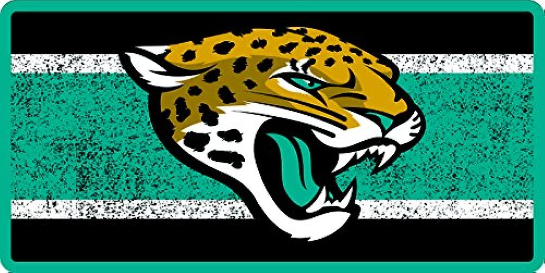 89827061 Jacksonville Jaguars VINTAGE Style Deluxe Laser Cut Mirrored License ...