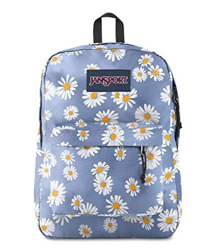 JanSport SuperBreak One Backpack - Lightweight School Bookbag, Daisy Haze
